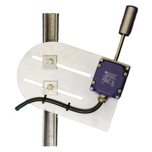 Belt Misalignment Switch with Roller